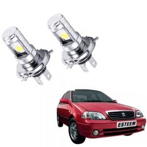 HJG H4 12V LED Head Lamp Bulb For Cars - (Pack of 2)