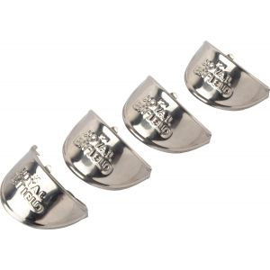 Iron Chrome Plating Indicator Shade for Royal Enfield Motorcycle - Silver